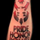 dragon ball symbol tattoo