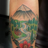 cabin in the woods tattoo