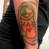 kermit the frog virgin mary tattoo