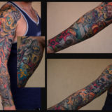 skeleton party sleeve