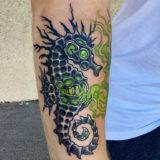 seahorse tattoo