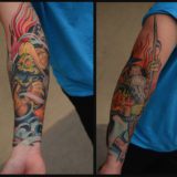 skelladude firefighter sleeve