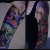 skeledude witch sleeve