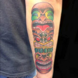 totem pole tattoo