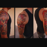 totem pole half sleeve