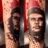 che guevara portriat tattoo