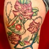teacup roses tattoo