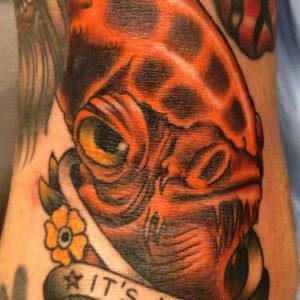 ackbar tattoo