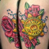 anastasia tattoo