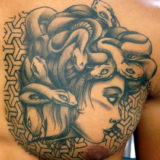 medusa head tattoo