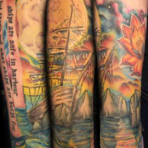 shipwreck tattoo