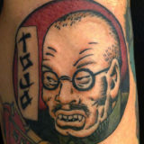 tojo portrait attoo