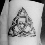 celtic black and grey tattoo