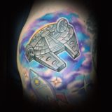 starwars tattoo by chad james