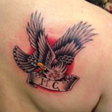 traditional eagle tattoo