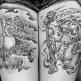vulture and reaper tattoo