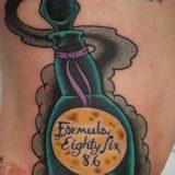 formula 86 tattoo