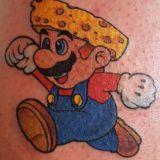 mario tattoo
