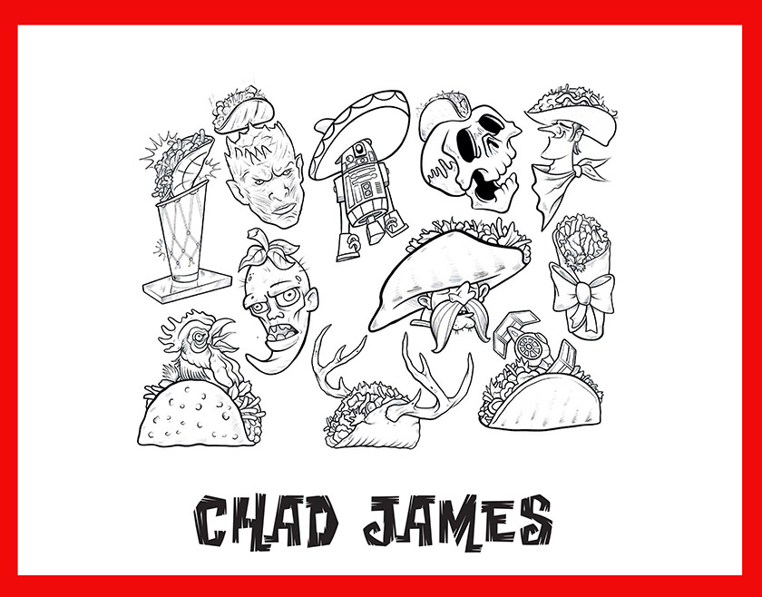chad james taco flash