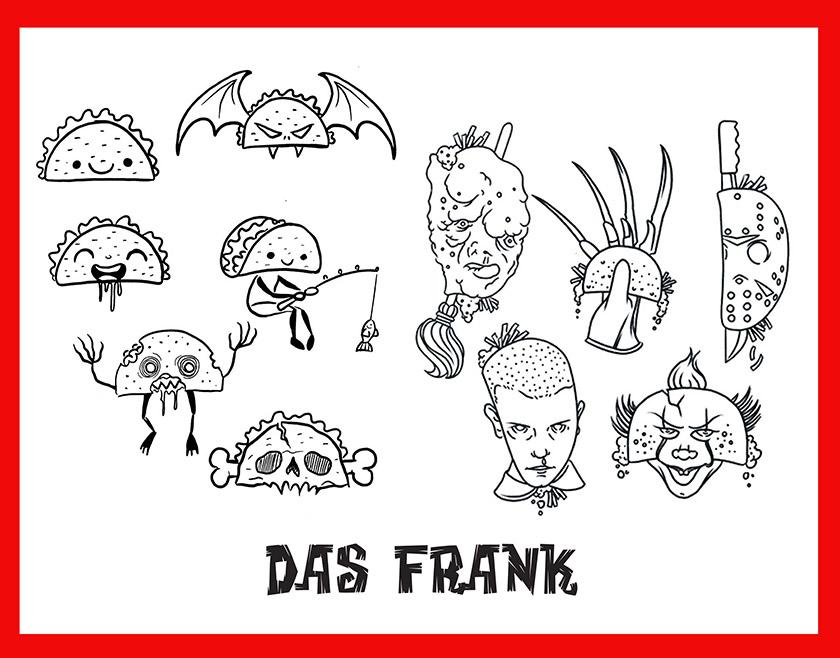 das frank taco designs