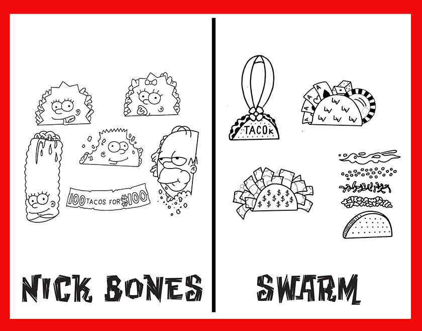 bones & swarm taco flash