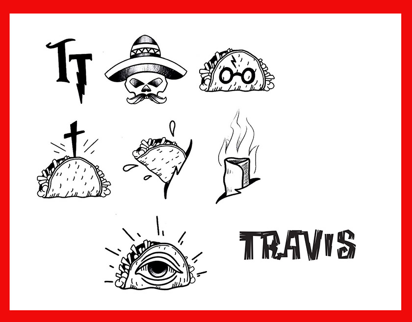 travis chasez taco tuesday designs