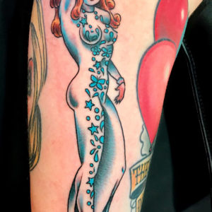 sailor pin up tattoo