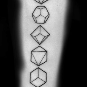 sacred geometry tattoo symbols of patterns, shapes and forms that make up all living things