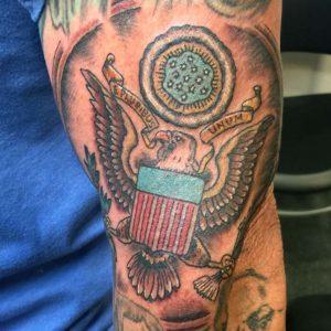 great seal of USA tattoo