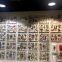wall of flash at studio 21 tattoo