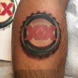 dos eqis beercap tattoo