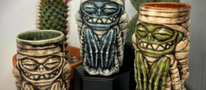 tiki mugs display