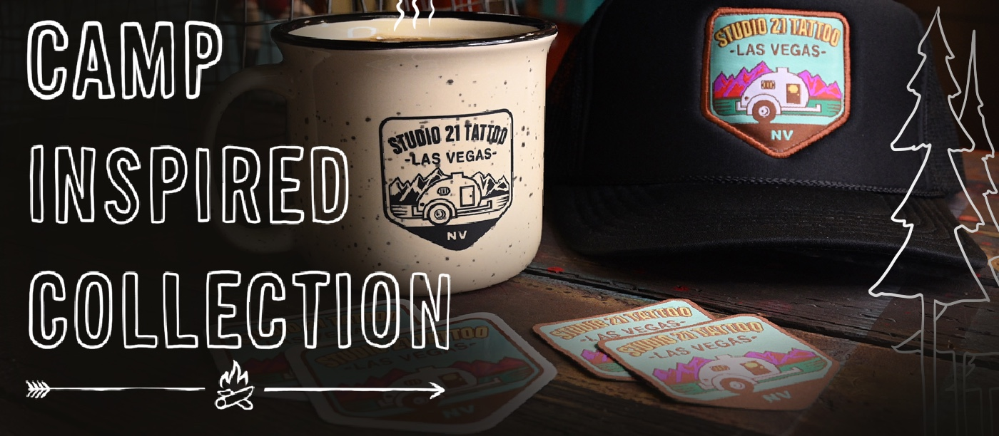 camping collection studio 21 tattoo store