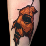 halloween jason tattoo