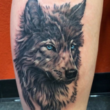 wolf tattoo-das