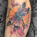 color dragonfly tattoo