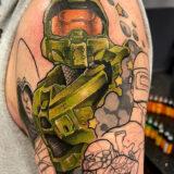 trooper video game tattoo