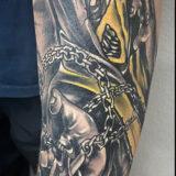 mortal combat character tattoo