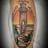 lighthouse tattoo