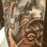 color ram tattoo